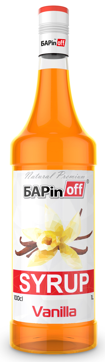 Barinoff Сироп Ваниль, 1 л добавка противоморозная лакра в бетон 1л
