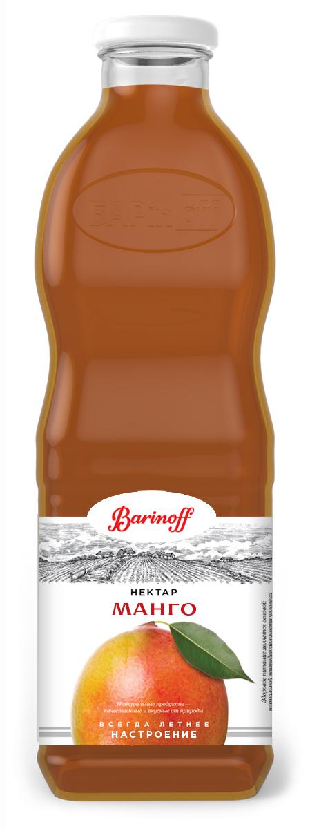 Barinoff Нектар Манго с мякотью, 1 л santal нектар манго 1 л