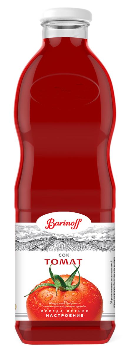 Barinoff Сок Томатный с мякотью и солью, 1 л barinoff сироп амаретто 1 л