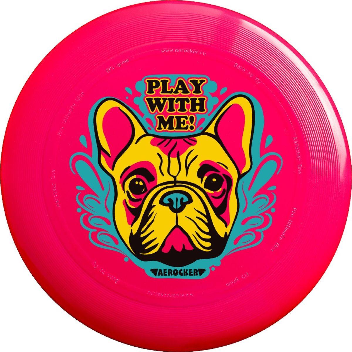 Aerocker Летающая тарелка Буль цвет розовый