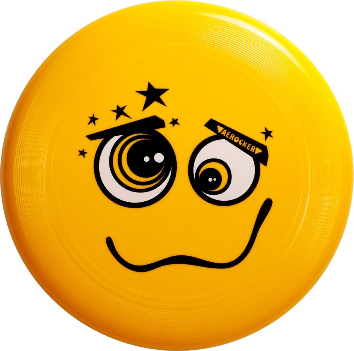 Aerocker Летающая тарелка Смайл цвет желтый