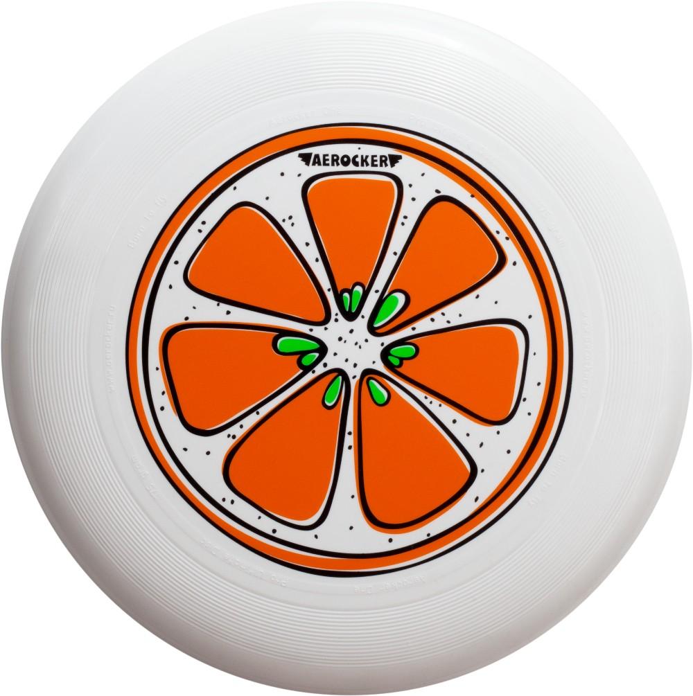 Aerocker Летающая тарелка Апельсин цвет белый