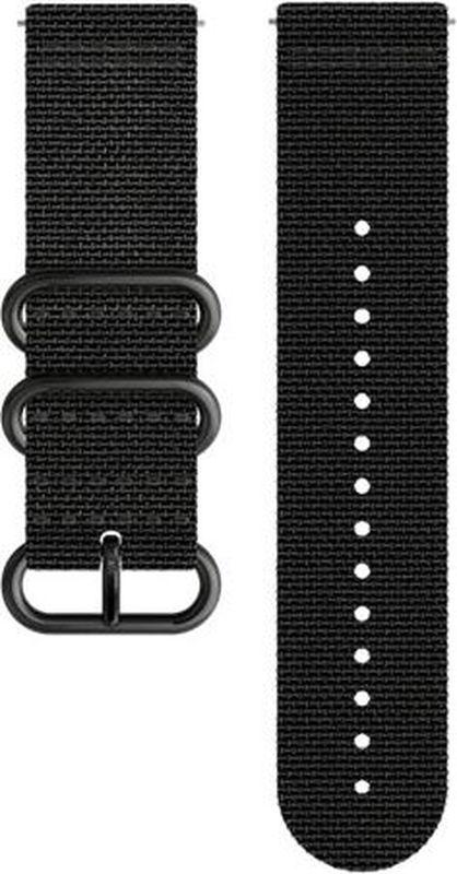 Ремешок для спортивных часов Suunto Traverse Alpha Black Textile Strap suunto умные часы suunto traverse black