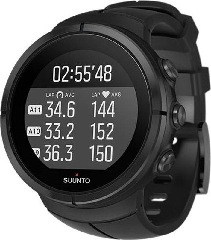 Спортивные часы Suunto Spartan Ultra All Black TitaSS022654000Suunto Spartan Ultra — это продвинутые GPS-часы для мультиспорта с цветным сенсорным экраном и водонепроницаемостью до глубины в 100 м. Компас и барометрическая высота с FusedAlti позволяют никогда не сбиться с пути. 80 предустановленных спортивных режимов и конкретные показатели по видам спорта делают Spartan Ultra вашим оптимальным партнером для тренировок. Отслеживайте достижения и личные рекорды. Оптимизируйте тренировки, опираясь на анализ данных сообщества. Открывайте новые маршруты на Suunto Movescount с помощью тепловых карт, пусть часы ведут вас по маршруту. Часы Spartan Ultra созданы вручную в Финляндии, их ключевая особенность — надежность в любых условиях.ВЫДЕРЖАТ ЛЮБЫЕ ПРИКЛЮЧЕНИЯ Водонепроницаемость до глубины 100 м / 300 фт 18 часов работы от батареи в режиме максимальной мощности при фиксированном интервале опроса GPS (1 с) для наиболее точной GPS-навигации До 140 ч работы батареи с настройками энергоэффективности Защищенный цветной сенсорный экран с тремя кнопками GPS/GLONASS для навигации по маршруту и определения расположения следование маршруту в реальном времени с маршрутом, точками POI и расчетным временем ETA GPS используется для отслеживания набора или снижения высоты в тренировке Алгоритм FusedAlti использует данные GPS и барометрическую высоту для более точной оценки высоты Штормовое предупреждение Время восхода/захода солнца Цифровой компас с компенсацией склонения ОПЫТ СПОРТИВНЫХ ДОСТИЖЕНИЙ Измерение частоты сердцебиения, оценка потраченных калорий, максимальной эффективности тренировки и времени восстановления Поддержка более 80 видов спорта в режимах соревнований и интервальной тренировки Режим триатлона и мультиспорта Настройка интервальных тренировок на часахПульсовые зоны на часах Бег: таблица пройденных этапов со сведениями о темпе бега и частоте сердцебиения; точное измерение темпа с технологией FusedSpeed поддержка датчика Stryd для оценки затрат мощности при беге Велос