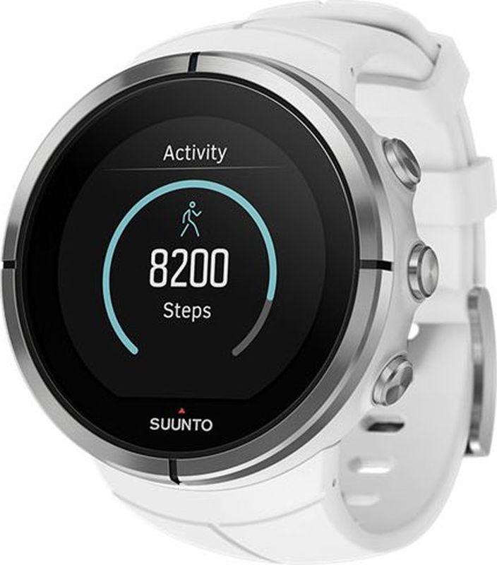 GPS-часы для мультиспорта и приключений Suunto Spartan Ultra — это продвинутые GPS-часы для мультиспорта с цветным сенсорным экраном и водонепроницаемостью до глубины в 100 м. Компас и барометрическая высота с FusedAlti позволяют никогда не сбиться с пути. 80 предустановленных спортивных режимов и конкретные показатели по видам спорта делают Spartan Ultra вашим оптимальным партнером для тренировок. Отслеживайте достижения и личные рекорды. Оптимизируйте тренировки, опираясь на анализ данных сообщества. Открывайте новые маршруты на Suunto Movescount с помощью тепловых карт, пусть часы ведут вас по маршруту. Часы Spartan Ultra созданы вручную в Финляндии, их ключевая особенность — надежность в любых условиях.  ВЫДЕРЖАТ ЛЮБЫЕ ПРИКЛЮЧЕНИЯ Водонепроницаемость до глубины 100 м / 300 фт 18 часов работы от батареи в режиме максимальной мощности при фиксированном интервале опроса GPS (1 с) для наиболее точной GPS-навигации До 140 ч работы батареи с настройками энергоэффективности Защищенный цветной сенсорный экран с тремя кнопками GPS/GLONASS для навигации по маршруту и определения расположения следование маршруту в реальном времени с маршрутом, точками POI и расчетным временем ETA GPS используется для отслеживания набора или снижения высоты в тренировке Алгоритм FusedAlti использует данные GPS и барометрическую высоту для более точной оценки высоты Штормовое предупреждение Время восхода/захода солнца Цифровой компас с компенсацией склонения ОПЫТ СПОРТИВНЫХ ДОСТИЖЕНИЙ Измерение частоты сердцебиения, оценка потраченных калорий, максимальной эффективности тренировки и времени восстановления Поддержка более 80 видов спорта в режимах соревнований и интервальной тренировки Режим триатлона и мультиспорта Настройка интервальных тренировок на часах  Пульсовые зоны на часах Бег: таблица пройденных этапов со сведениями о темпе бега и частоте сердцебиения; точное измерение темпа с технологией FusedSpeed поддержка датчика Stryd для оценки затрат мощности при беге Велосипедная гонка: таб