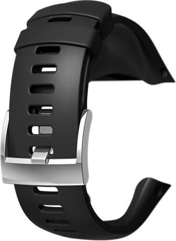 Ремешок для спортивных часов Suunto Spartan Trainer Wrist HR Black Strap удлинитель ремешка для часов suunto suunto x6
