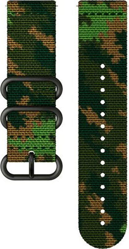 Ремешок для спортивных часов Suunto Traverse Textile Woodland Strap suunto умные часы suunto traverse black