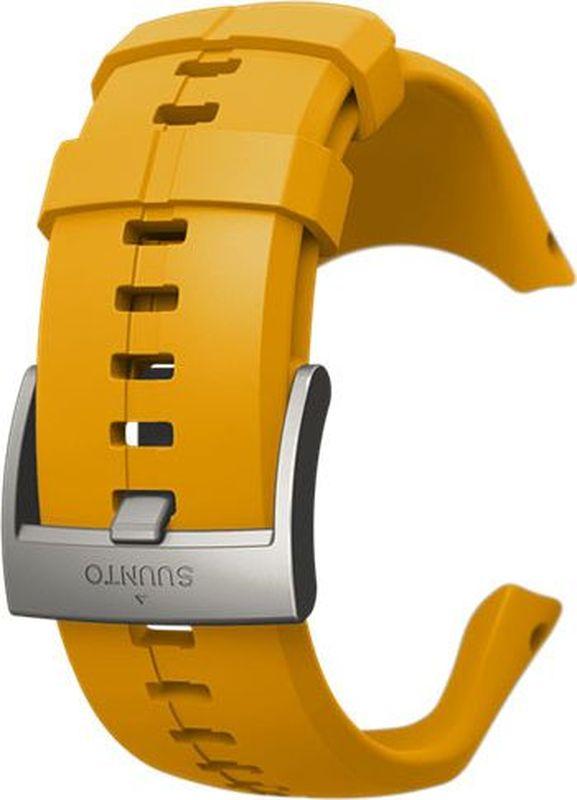 Ремешок для спортивных часов Suunto Spartan Trainer Wrist HR Amber Strap 24mm italian oily leather watchband tool adapters for suunto core watch band steel buckle strap wrist bracelet black brown