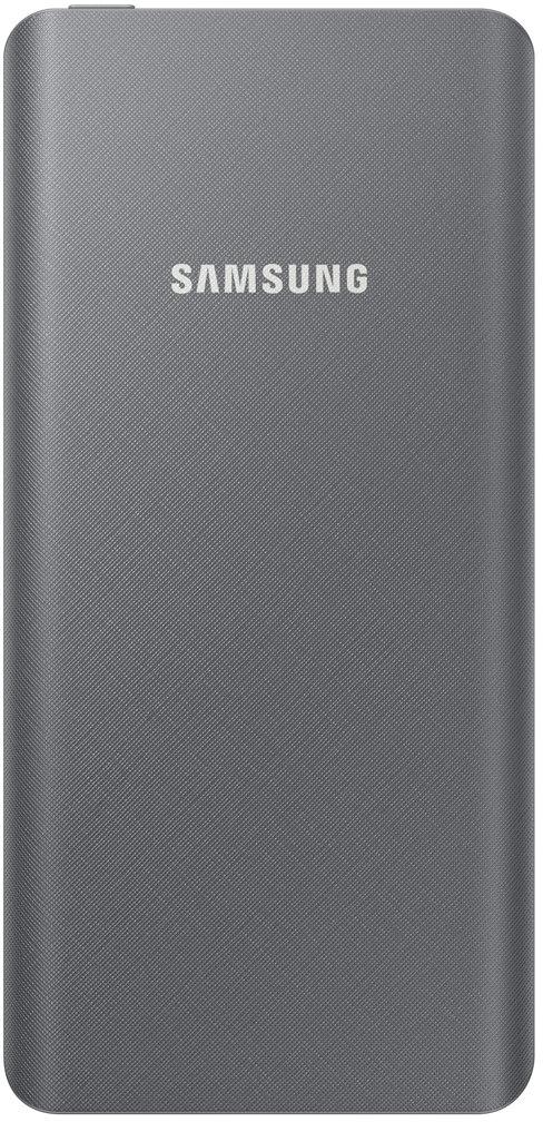 Samsung EB-P3020, Gray внешний аккумулятор (5000 мАч)EB-P3020CSRGRUКогда ты в дороге и находишься далеко от розетки, подключи свой Galaxy S9 или S9+ к внешнему аккумулятору Samsung EB-P3020, чтобы продлить время работы смартфона. Он достаточно компактный, чтобы поместиться в кармане или сумочке, но при этом очень функциональный как по ёмкости батареи, так и по скорости зарядки.