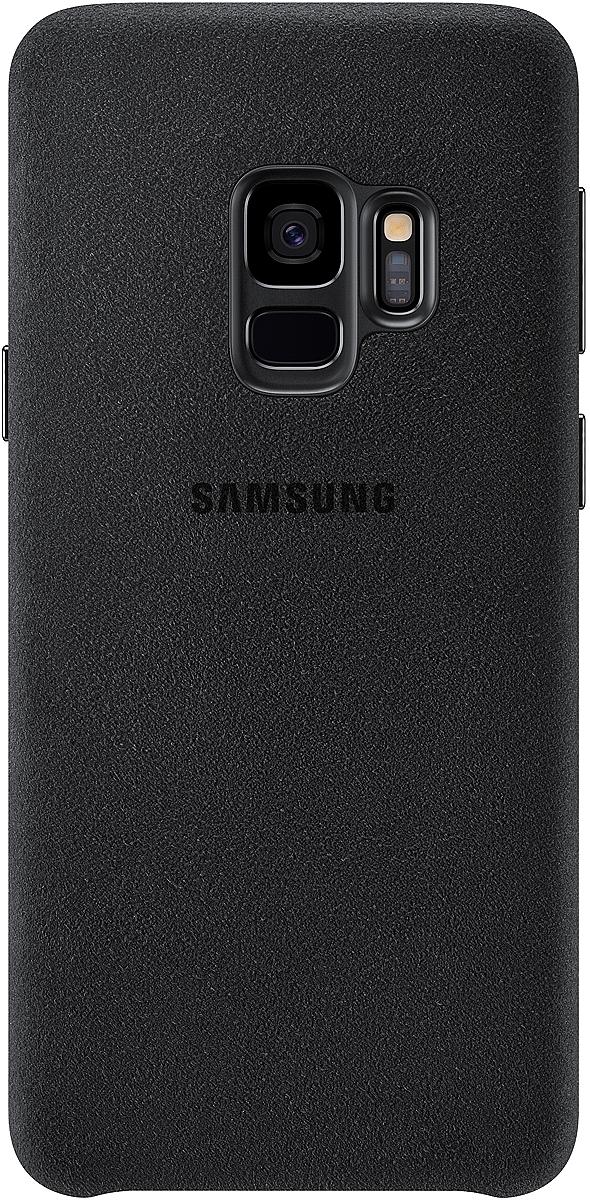 Samsung Alcantara Cover чехол для Galaxy S9, BlackEF-XG960ABEGRUЛицевая поверхность чехлаSamsung Alcantara для Galaxy S9выполнена из Алькантары - ультрамикрофибры высочайшего качества, отличающейся мягкостью, богатой цветовой гаммой, великолепной износостойкостью и долговечностью.