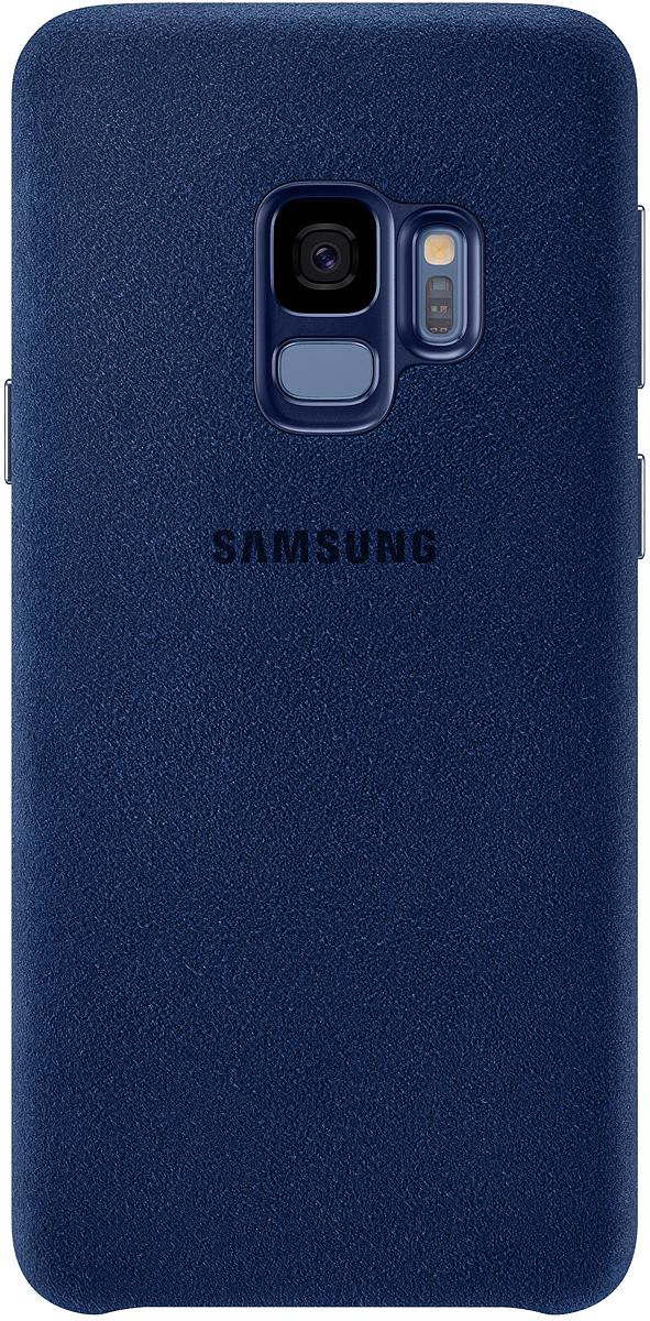 Samsung Alcantara Cover чехол для Galaxy S9, Blue