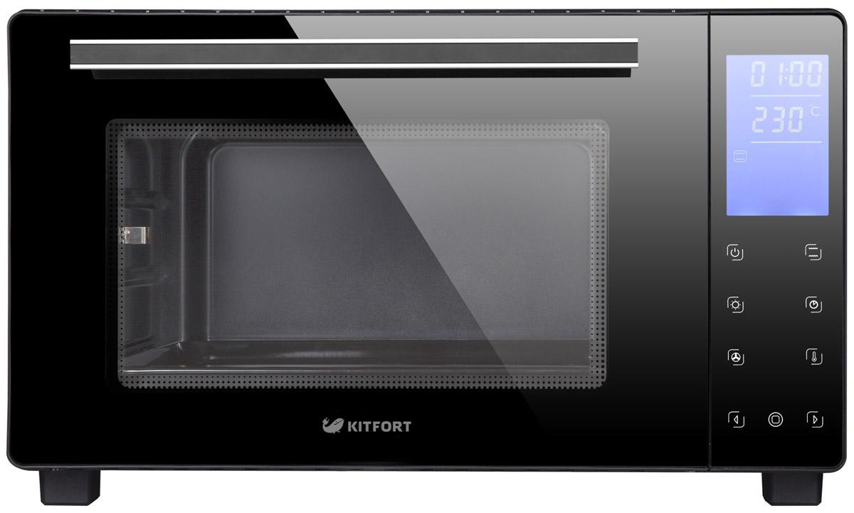 Kitfort KT-1706, Black мини-печь