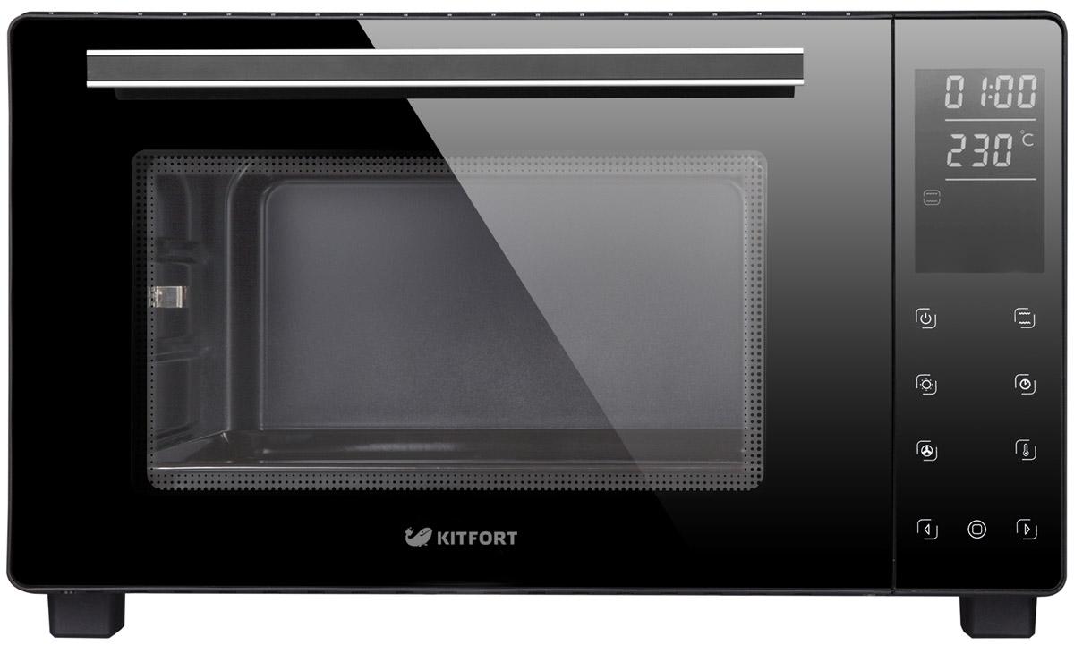 Kitfort KT-1707, Black мини-печь