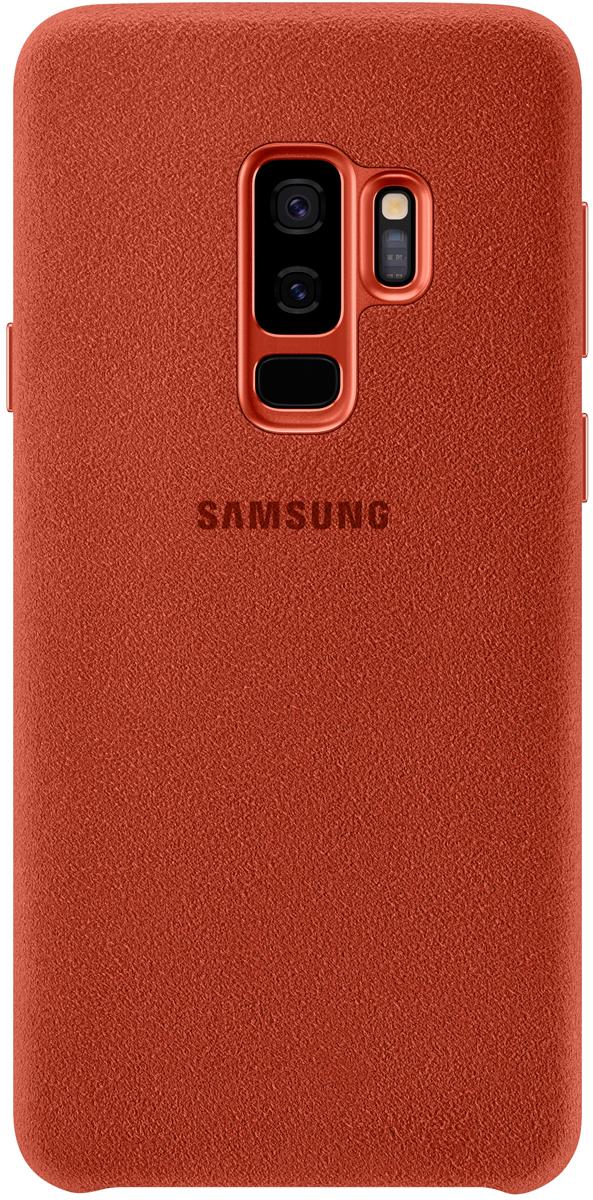 Samsung Alcantara Cover чехол для Galaxy S9+, Red денис горелов калина красная dvd rom