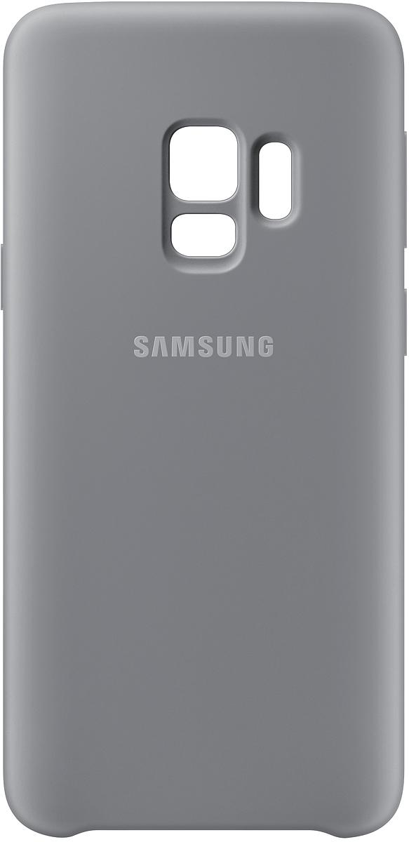 Samsung Silicone Cover чехол для Galaxy S9, GrayEF-PG960TJEGRUБлагодаря своим плавным линиям Samsung Galaxy S9 уже удобно лежит в руке, а силиконовый чехол с мягким, приятным на ощупь софт тач покрытием, только усиливает это ощущение комфорта. Кроме того Silicone Cover с внутренней мягкой подкладкой из микроволокна надежно защищает корпус смартфона от повреждений.