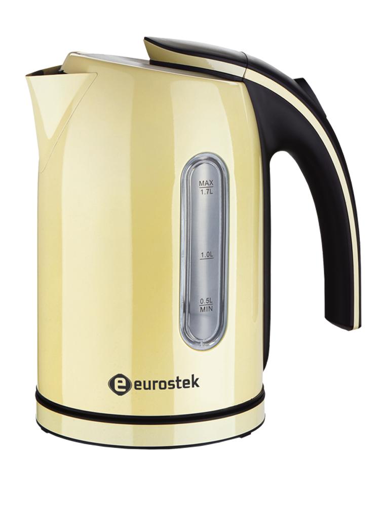 Eurostek ЕЕК-2213, Beige чайник электрический aucma aucma адк 1800d39 1 7l304 электрический чайник из нержавеющей стали двойной анти ошпаривают