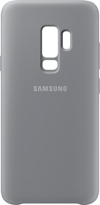 Samsung Silicone Cover чехол для Galaxy S9+, GrayEF-PG965TJEGRUБлагодаря своим плавным линиям Samsung Galaxy S9+ уже удобно лежит в руке, а силиконовый чехол Samsung Silicone Cover с мягким, приятным на ощупь софт тач покрытием, только усиливает это ощущение комфорта. Кроме того чехол с внутренней мягкой подкладкой из микроволокна надежно защищает корпус смартфона от повреждений.