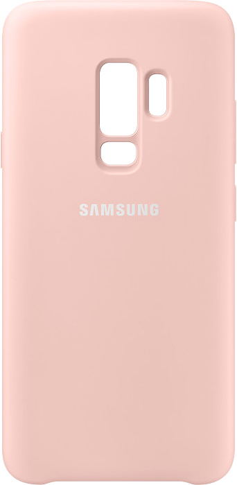 Samsung Silicone Cover чехол для Galaxy S9+, PinkEF-PG965TPEGRUБлагодаря своим плавным линиям Samsung Galaxy S9+ уже удобно лежит в руке, а силиконовый чехол Samsung Silicone Cover с мягким, приятным на ощупь софт тач покрытием, только усиливает это ощущение комфорта. Кроме того чехол с внутренней мягкой подкладкой из микроволокна надежно защищает корпус смартфона от повреждений.