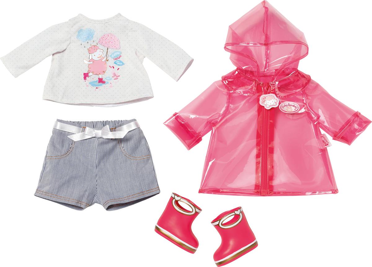 Zapf Creation Одежда для куклы Baby Annabell для дождливой погоды одежда для мужчин