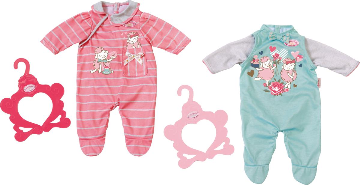 Zapf Creation Одежда для куклы Baby Annabell 700-846 zapf creation baby annabell 700 198 бэби аннабель одежда для теплых деньков