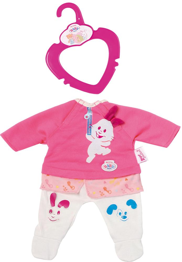 Zapf Creation Одежда для куклы my little BABY born lovely striped baby girl одежда мальчик одежда брюки костюм малыш детские наряды одежда для ребенка