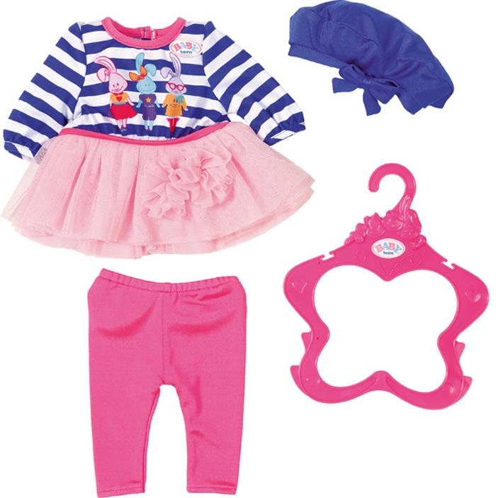 Zapf Creation Одежда для куклы BABY born В погоне за модой lovely striped baby girl одежда мальчик одежда брюки костюм малыш детские наряды одежда для ребенка