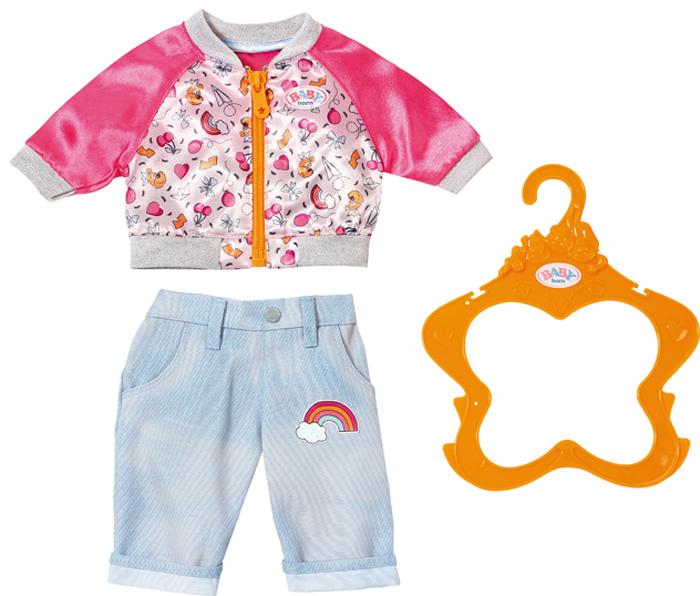 Zapf Creation Одежда для куклы BABY born 824-542 кукла zapf creation baby born сестричка русалочка 43 см 824 344
