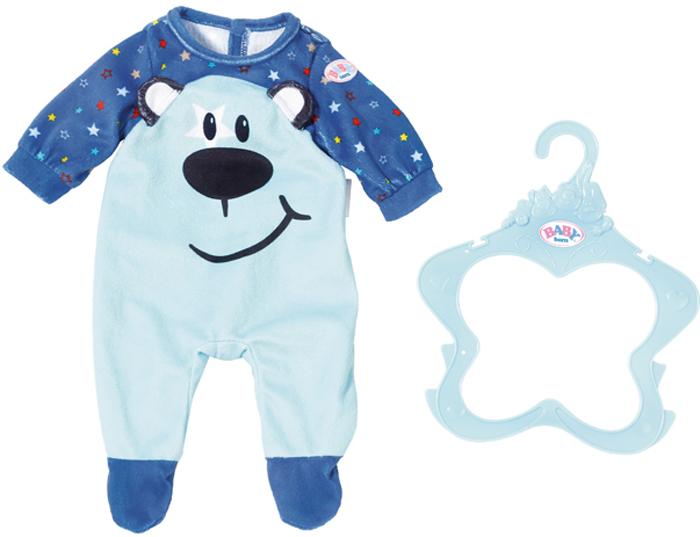 Zapf Creation Одежда для куклы BABY born цвет в ассортименте 824-566 игра zapf creation baby born комбинезончики 870 211