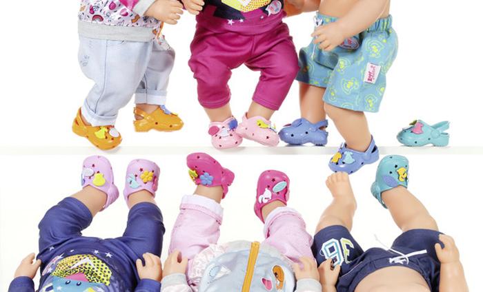 Zapf CreationСандалии фантазийные для куклы BABY born Zapf Creation