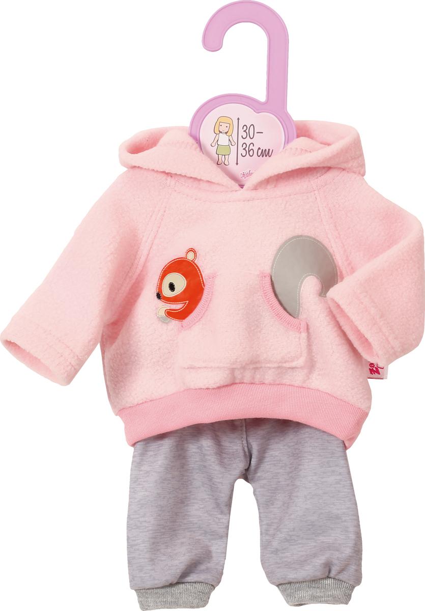 Zapf Creation Тренировочный костюм для куклы lovely striped baby girl одежда мальчик одежда брюки костюм малыш детские наряды одежда для ребенка