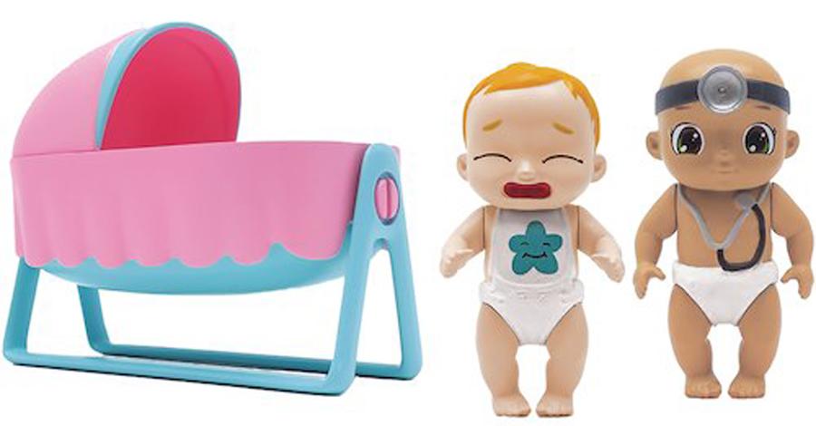 Zapf Creation Игровой набор BABY Secrets С колыбелью игрушка baby secrets набор с колыбелью блистер