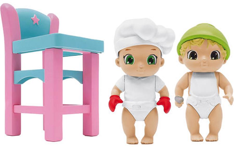 Zapf Creation Игровой набор BABY Secrets С детским стульчиком игрушка baby secrets набор с колыбелью блистер