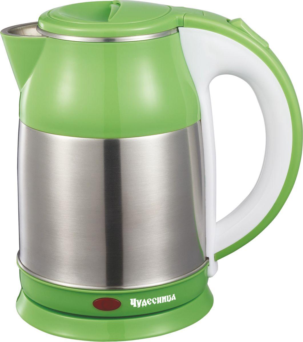 Чудесница ЭЧ-2015, Green чайник электрический цена и фото