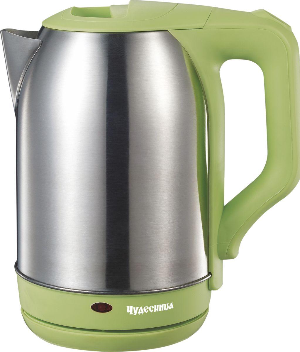 Чудесница ЭЧ-2021, Green чайник электрический цена и фото