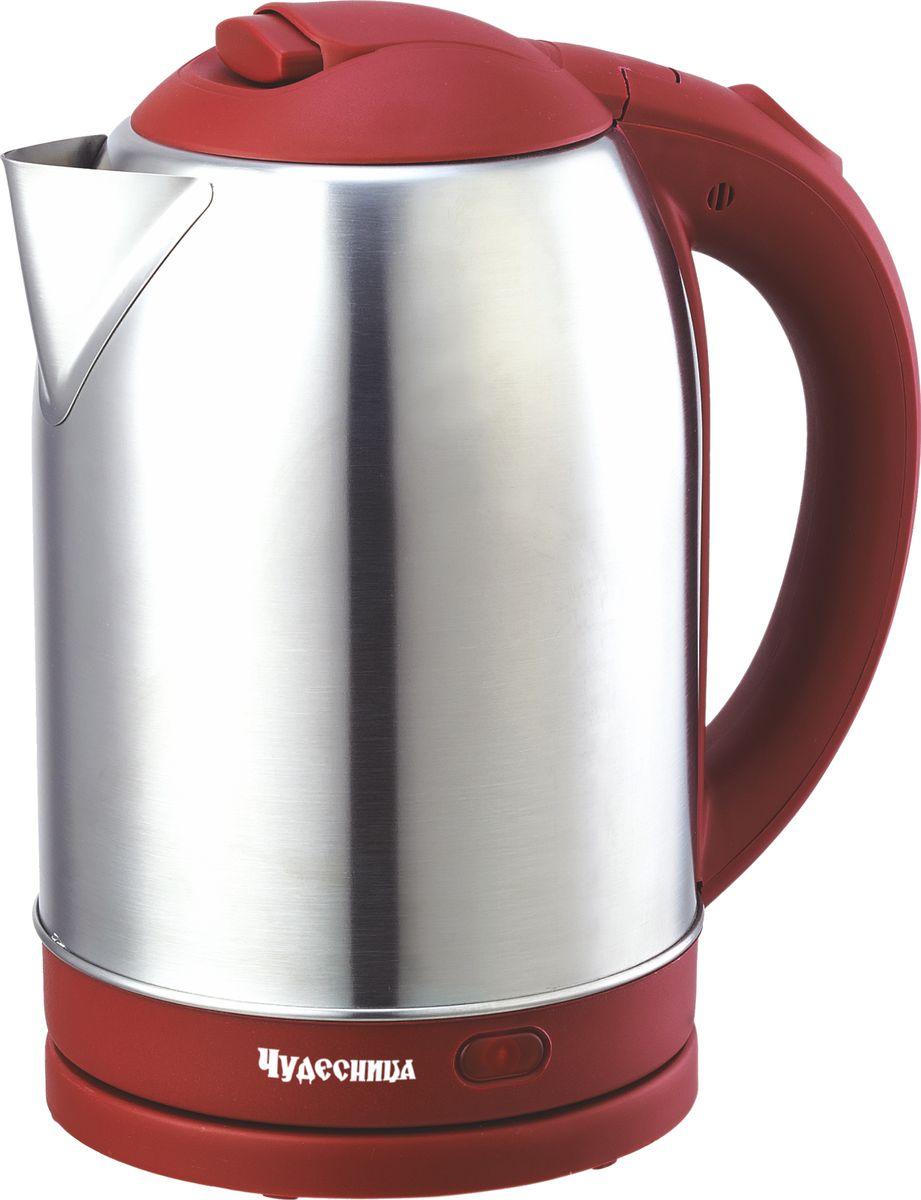 Чудесница ЭЧ-2031, Red чайник электрический цена и фото