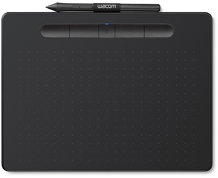 Wacom Intuos S, Black графический планшет