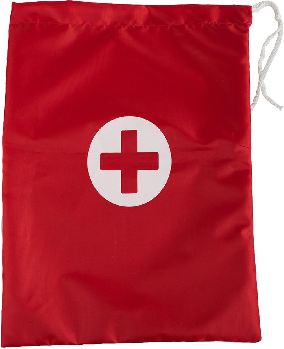 Сумка-аптечка Homsu, цвет: красныйHOM-945Аптечка Homsu на шнурке, выполнена из полиэстера, в такой аптечке удобно хранить таблетки, пластыри, бинты и прочие вещи для вашего здоровья. Аптчека также станет незаменимым помощником в путешествиях.