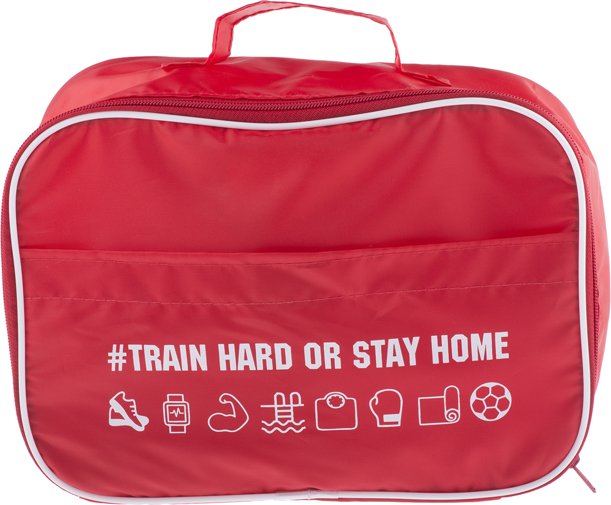 Следите за фигурой и здоровьем? А может собираетесь начать и наконец записаться в фитнес клуб? В органайзер Train Hard отлично вместятся принадлежности для душа, крема, и другие необходимые вещи.