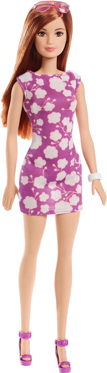 Barbie Кукла Куклы в модных платьях цвет платья фиолетовый