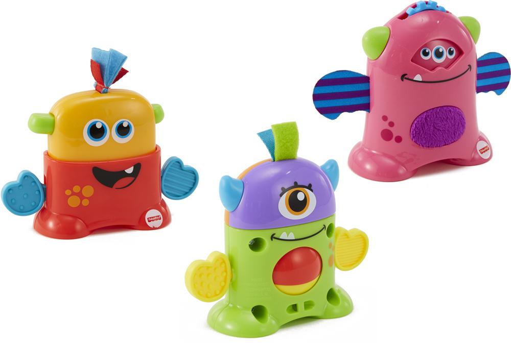 Fisher-Price Infant Toys Развивающая игрушка Мини-монстрик