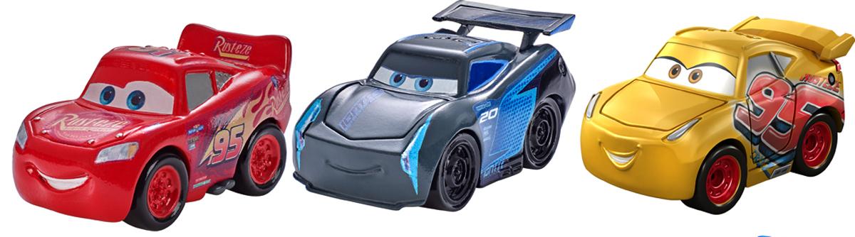 Cars Трековые машинки Мини машинки 3 шт игровые наборы dickie набор машинок с трассой пазлами