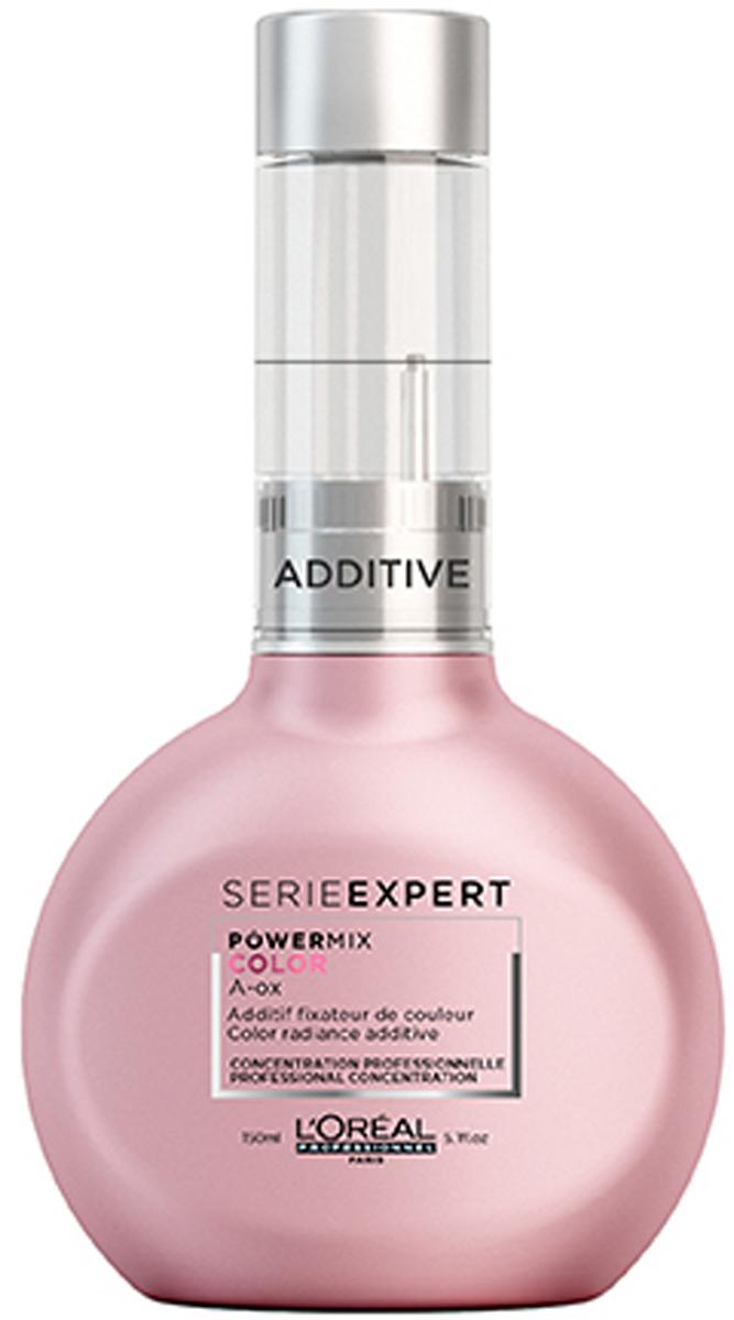 LOreal Professionnel Бустер для сияние цвета Serie Expert Powermix Vitamino Color, 150 млE2217800Профессиональный уходовый концентрат входит в группу Эксперт цвета. Моментально преображает окрашенные волосы и защищает цвет от потускнения. Входящие в состав инновационный комплекс и активные ингредиенты делают волосы сильнее, придают им блеск и мягкость. Концентрат Powermix для добавления в смесь для защиты и сохранения цвета окрашенных волос.