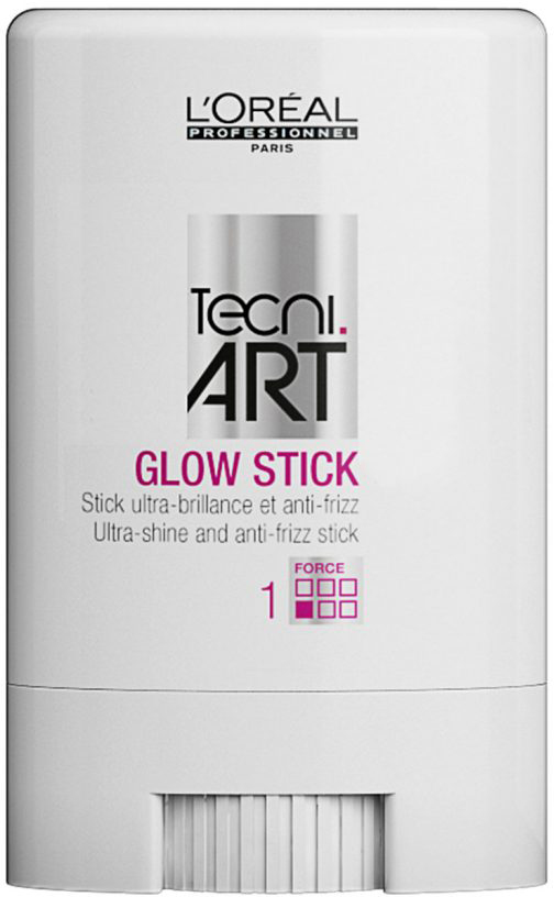 LOreal Professionnel Стик для гладкости и блеска волос Tecni Art Glow Stick, (фикс. 1), 10 млP1437100Стик обеспечивает волосам ультра-блеск и защиту от образования завитков. Волосы выглядят гладкими и блестящими. Текстура средства в форме воска не утяжеляет волосы. Стик используется для создания четкого и блестящего пробора, идеального высокого хвоста или для придания укладке блеска и гладкости. Уровень фиксации 1.