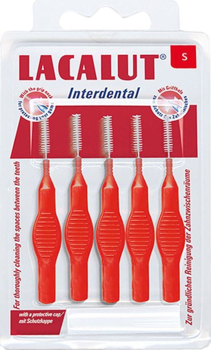 Lacalut Interdental Межзубные цилиндрические ершики, диаметр 2,4 мм