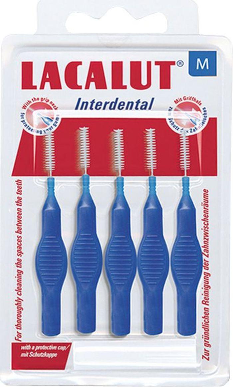 Lacalut Interdental Межзубные цилиндрические ершики, диаметр 3 мм666058Lacalut предлагает специально разработанные интердентальные средства - это интердентальные ершики, с которыми вы можете ознакомиться в данном разделе. Интердентальные ершики качественно очищают межзубные пространства, что особенно актуально при ношении брекетов и зубных протезов.