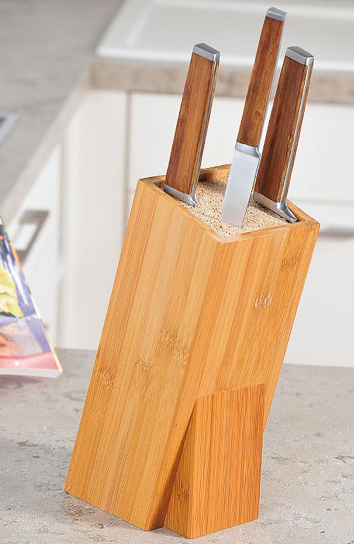 Блок для ножей Kesper, цвет: коричневый. 5802-1