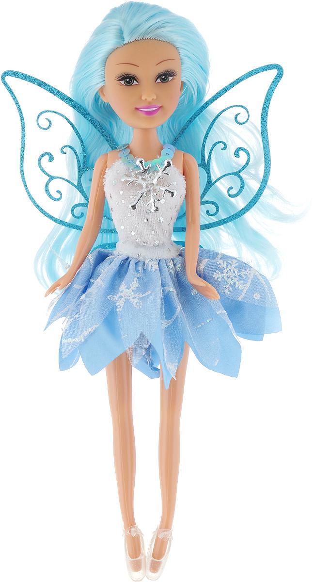 Funville Кукла Зимняя Фея Sparkle Girlz цвет белый голубой кукла yako m6579 6