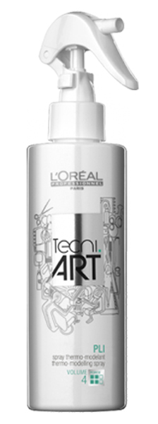 L'Oreal Professionnel Термомоделирующий фиксирующий спрей для объема Tecni Art Pli Thermo-Modelling Spray, (фикс. 4), 190 мл E1559300