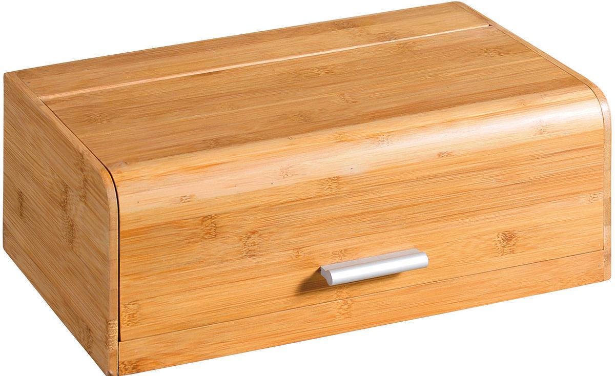 """Хлебница """"Kesper"""", выполненная из бамбука, позволит сохранить ваш хлеб свежим и вкусным.   Хлебница оснащена крышкой с ручкой из нержавеющей стали.   Стильный дизайн изделия выгодно дополнит любой кухонный интерьер.   Хлебница надолго сохранит свежесть, мягкость, аромат хлеба и других хлебобулочных изделий."""
