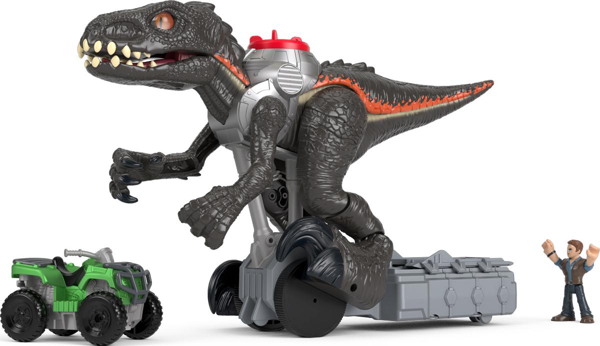 Imaginext Интерактивная игрушка Jurassic World Гигантский роботизированнй динозавр - Интерактивные игрушки